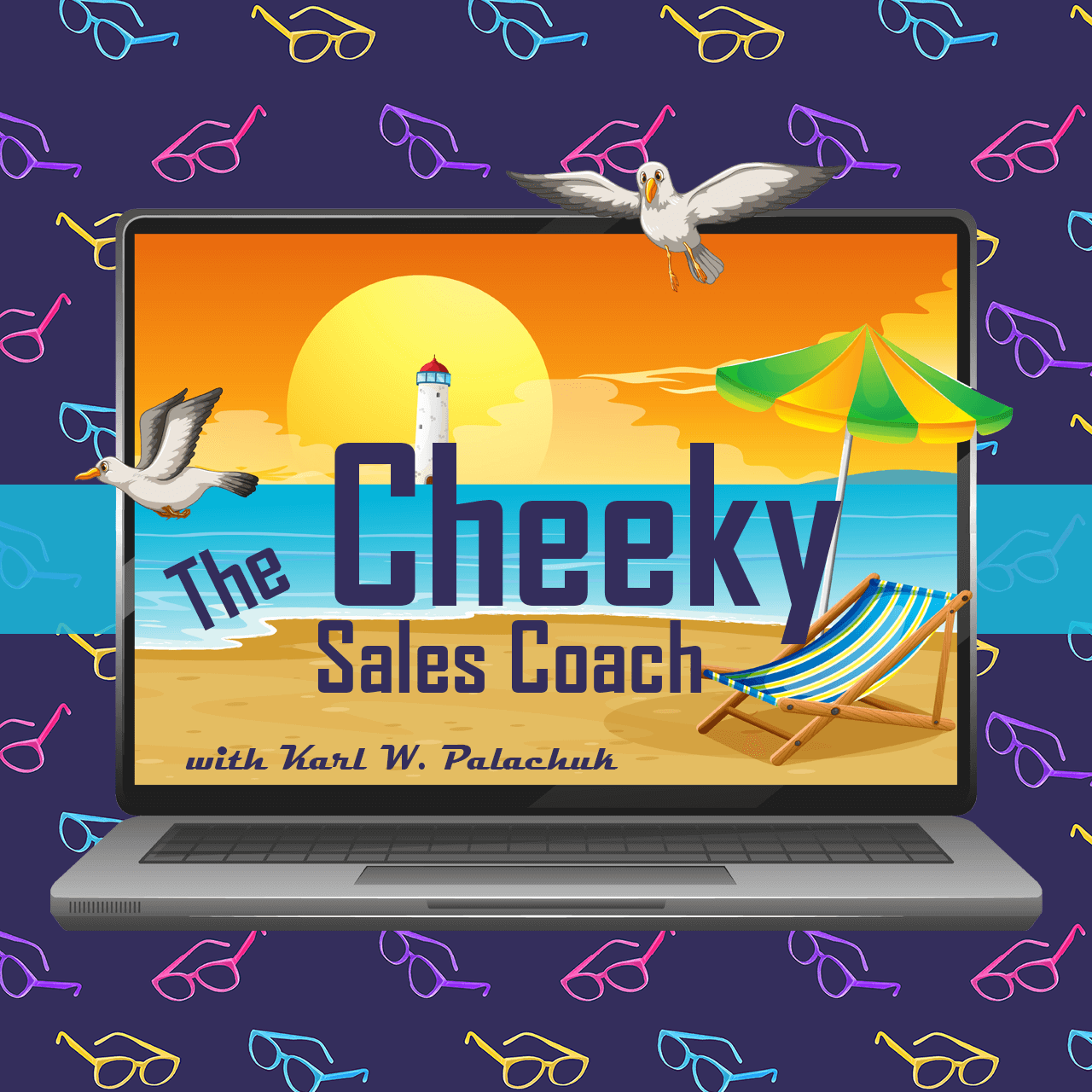 The Cheeky Sales Coach Cover Banner